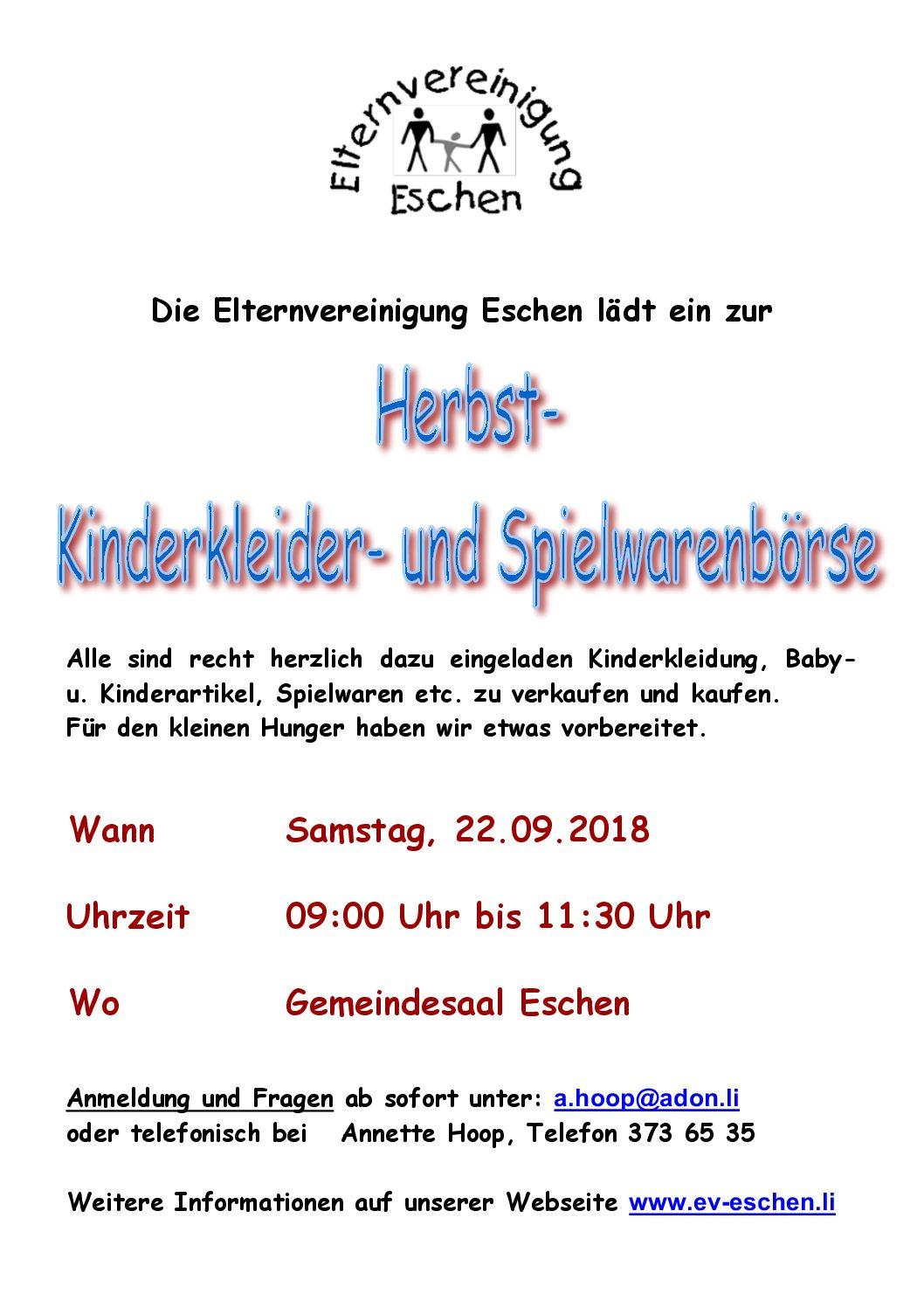 Erfolgreiche Kinderkleider- und Spielwarenbörse – Frühjahr 2018 ...